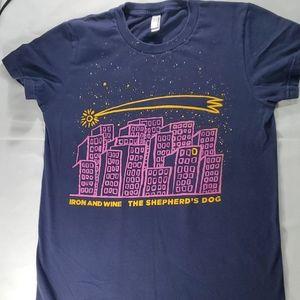 Iron & Wine the Shepards dog shirt